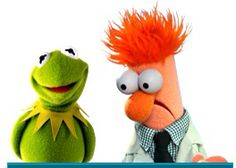 Kermit and Beaker