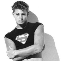 Young Jensen Ackles - Supernatural. hahahah, I love the way he has his tummy showing, I shouldn't find this so funny, but he's too adorable!