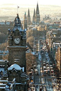 Prince Street, Edinburgh, Scotland