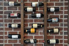 ETSY  8 Bottle Tuscan Wine RacksWine and exposed brick~double yum