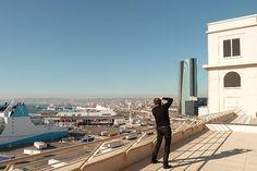 FENÊTRE AUGMENTÉE 03 - MARSEILLE / Thierry Fournier / Exposition collective, installation in situ, édition sur ipad, 2013 / Friche de la Belle de Mai, Marseille