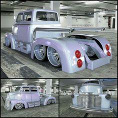 Chevy COE by Warped Renderings..