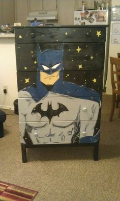 Batman inspired but not art history