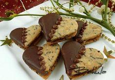 Moje vánoční cukroví Christmas Sweets, Christmas Baking, Christmas Cookies, Macaroons, Chocolates, Wedding Appetizers, Czech Recipes, Relleno, Biscotti