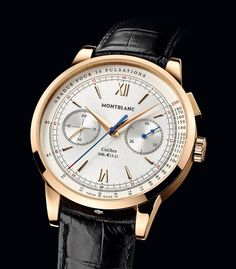 Montblanc Meisterstuck Heritage Pulsograph Watch