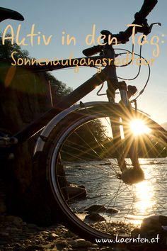 Bei einem Radurlaub in Kärnten erwarten dich nicht nur familienfreundliche Radwege wie der 5-Sterne Drauradweg oder der grenzüberschreitende Alpe-Adria-Radweg. Mountainbiker kommen auf 40 Trails und mehr als 3000 km ausgeschilderten Mountainbike-Strecken auf ihre Kosten. Erfahre mehr zum Radfahren in Kärnten.   #radurlaub #itsmylife #visitcarinthia #mountainbike #herbsturlaub Klopeiner See, Aktiv, Movies, Movie Posters, Bike Trails, Bike Rides, Sunrise, Tourism, Films