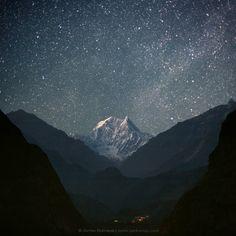 Stunning photos of the Himalayas #Nepal #photograph #nature #stars #landscape