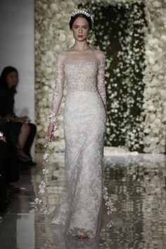 Reem Acra Bridal Fall 2015 - Slideshow - Runway, Fashion Week, Fashion Shows, Reviews and Fashion Images - WWD.com
