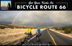 THIS.  This is the route that has inspired my fascination with bike touring.  I am planning to complete this ride the summer following getting my bachelors degree, preceding starting grad school.  <3 THIS.   Bicycle Route 66, 2,493 Miles, & Map | Adventure Cycling Association
