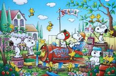 E-11-393 Epoch Japan Jigsaw Puzzles Peanuts Snoopy and Woodstock