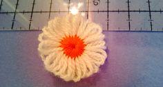 barette with flower