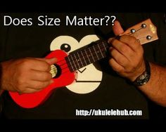 Size matters! Small is cool! Ukulele love!