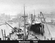 Maashaven Rotterdam (jaartal: 1920 tot 1930) - Foto's SERC