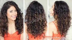Curly Hairstyles For Women Trick,Curly Hairstyles For Women Trick. Mid Length Curly Hairstyles, Haircuts For Curly Hair, Curled Hairstyles, Hairstyles Haircuts, Cool Hairstyles, Black Hairstyles, Curls For Long Hair, Long Curly Hair, Long Hair Cuts