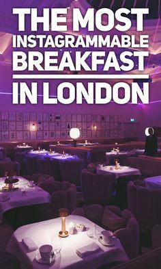 Most instagrammable breakfast in London - sketch Mayfair - best breakfast in London. Spots for breakfast in London