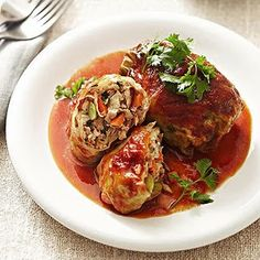 spicy asian pork cabbage rolls | Quick Recipes & Kitchen Tips