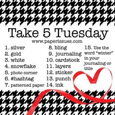 Paper Issues: Take 5 Tuesday Challenge - December! Besties, Page Maps, Scrapbook Sketches, Scrapbook Layouts, Card Sketches, Scrapbooking Ideas, Photo Corners, Paper Strips, Paper Punch
