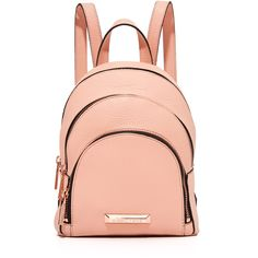 Kendall Kylie Sloane Mini Backpack ($250) ❤ liked on Polyvore featuring bags, backpacks, rucksack bags, daypack bag, red mini bag, backpack bags and mini bag