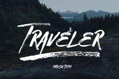 Traveler (50%off) by celcius design on @creativemarket