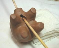 Sculpted Clay Whistles - WetCanvas
