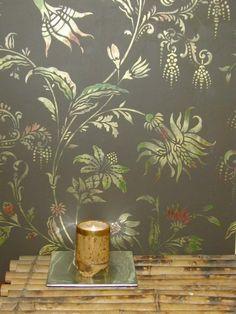 Wall stencil...