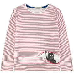 Striped jersey T-shirt - 125078