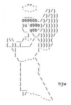 Christmas Angels in ASCII Text Art   Ascii art and Angel
