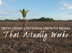 Curious about dividend growth stocks? Educate yourself and gain some insight into one financial professional's full investment model.