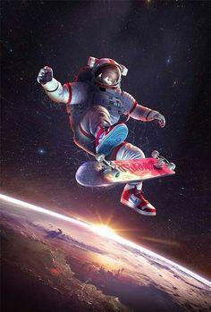 space skating