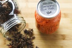 Sweet and Spicy Asian Style Pickled Carrots | Make Ahead Mondays