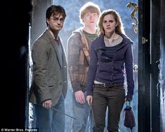 The Trio apparate at Number 12 Grimmauld Place (Harry Potter and the Deathly Hallows Part 1) (hp5)