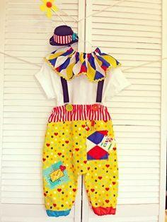 Hey, I found this really awesome Etsy listing at https://www.etsy.com/listing/219147125/boy-circus-clown-costume-little-boys