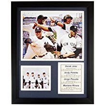 11x14-Inch Legends Never Die Mickey Mantle Bats Framed Photo Collage
