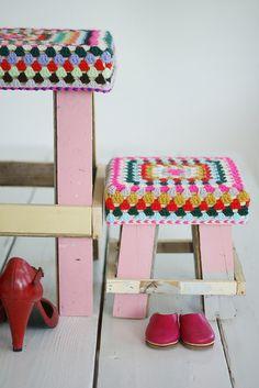 half in size, twice as nice by wood & wool stool, via Flickr