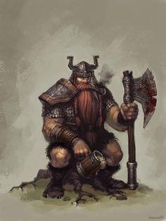 Barbarian Dwarf.