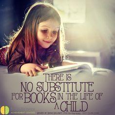 """There is no #substitute for #books in the life of a #child."" Mary Ellen Chase #truth #truetalk #reading #lovetoread #lovebooks #instaquote #qotd #nosubstituteforbooks  #StGeorge #SouthJordan #PleasantGrove #Bountiful #Utah #UT #socialskills #academicdifficulties #behaviorissues #sensoryissues #addressthecause #brainbalance #afterschoolprogram"