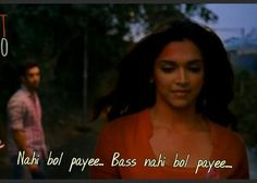 Yjhd Film Quotes, Hindi Quotes, True Quotes, Qoutes, Deepika Padukone Movies, Funny Dialogues, Bollywood Quotes, Stupid Love, Besties Quotes