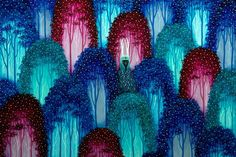 Добрые рогатые духи - Энди Кехо.  Все интересное в искусстве и не только.
