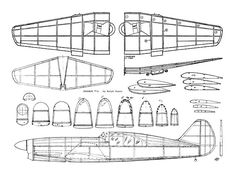 1599 Best Balsa wood model airplane plans images in 2017
