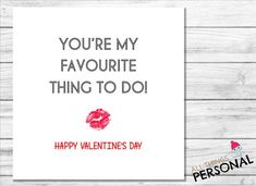 Funny Valentines Day Card For Husband Wife Boyfriend Girlfriend Parter Love Lover Rude Adult Joke Valentine's Day – Valentines Day Gift Ideas Valentines Day Gif Images, Valentines Day Funny, Funny Birthday Cards, Valentine Day Cards, Boyfriend Girlfriend, Funny Girlfriend, Boyfriend Card, Adult Joke, Personalised Christmas Cards
