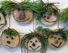 Oppilastyö2006 Forest School Activities, Nature Activities, Outdoor Activities For Kids, Autumn Activities, Preschool Activities, Toddler Crafts, Diy And Crafts, Crafts For Kids, Arts And Crafts