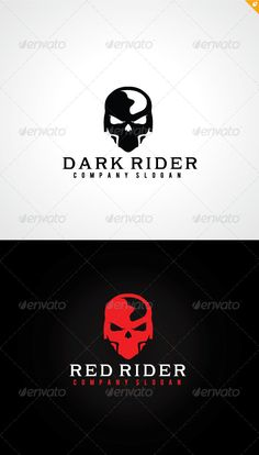 Rider Logo — Vector EPS #play #happy • Available here → https://graphicriver.net/item/rider-logo/8196403?ref=pxcr
