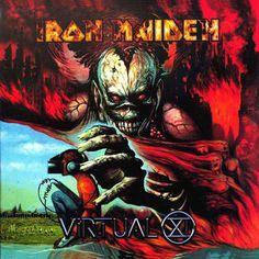 Iron Maiden, Virtual XI (capa tão ótima que ignoro o álbum ser ruim só pela falta do Dickinson nos vocais :x)