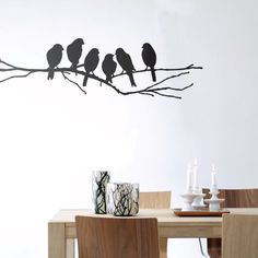 Lovebirds Wallsticker