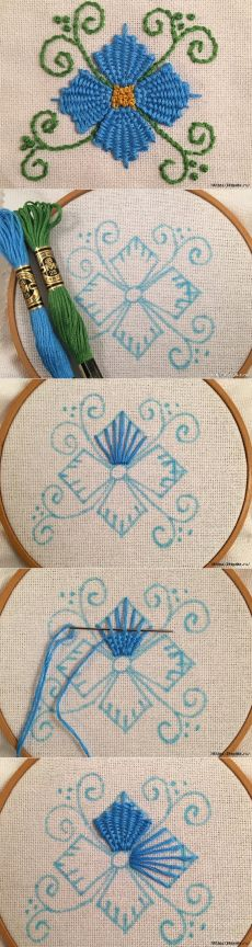 Crewel Embroidery Stitches Tutorial + Embroidery Glendale during Embroidery Jump Stitches some Embroidery Thread How Many Strands before Embroidery Patterns Cool Hand Embroidery Tutorial, Hand Embroidery Stitches, Crewel Embroidery, Hand Embroidery Designs, Embroidery Techniques, Embroidery Kits, Ribbon Embroidery, Cross Stitch Embroidery, Machine Embroidery