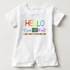 Hello Great Big World Rainbow Colors Shirt - red gifts color style cyo diy personalize unique