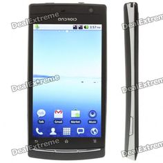 19%OFF + Android 2.2 Dual SIM Quadband GSM Cell phone + Free Shipping