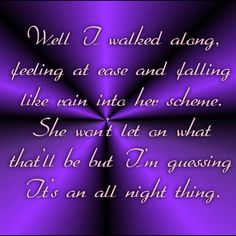 All Night Thing - Temple Of The Dog