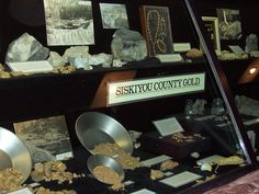 This Siskiyou County gold display was in the lobby of the courthouse, but was stolen by two thieves on They are in prison, but the gold is still missing and will probably never be seen again. California History, California Travel, Northern California, Golden Gate Park, Gold Rush, Prison, The Past, Places To Visit, Display