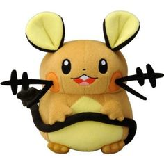 "Amazon.com: Takaratomy New Pokemon N-05 X and Y Dedenne 7"" Plush Doll: Toys & Games"